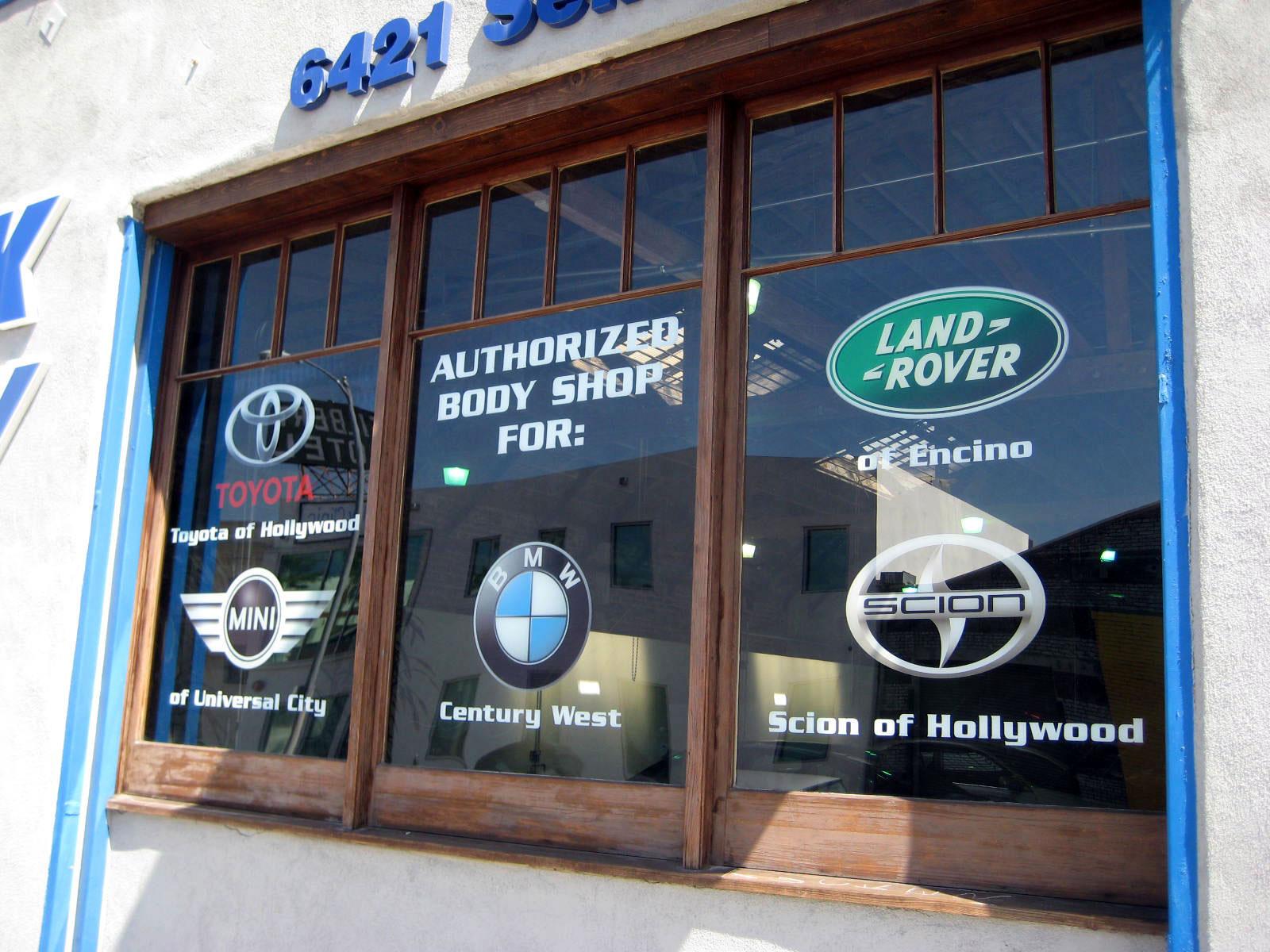 d ziner sign co window signs
