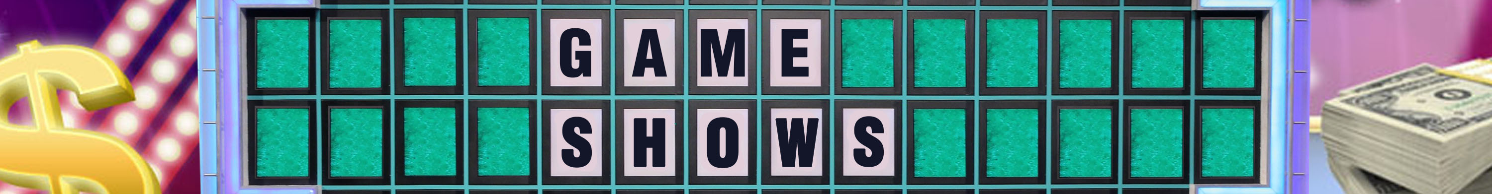 Entertainment Banner Game Shows